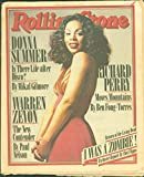 Rolling Stone Magazine #261 March 23 1978 Donna Summer Warren Zevon Return Livin