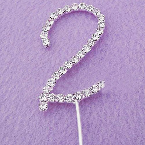 Number Two Cake Topper (Number Cake Topper compare prices)