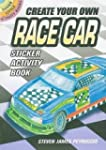 Create Your Own Race Car Sticker Acti...