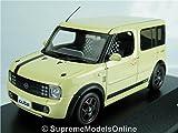 NISSAN CUBE SX MODEL CAR 2003 NEOCLASSICAL BEANS 1/43RD SCALE JC20084BE K8967Q~#