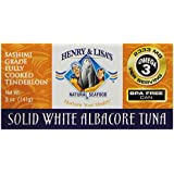 Henry & Lisa's Natural Seafood Solid White Albacore Tuna, 5 Ounce
