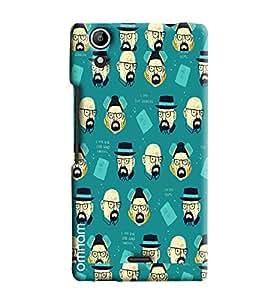 Omnam Man Art Pattern Printed Designer Back Cover Case For Micromax Selfie 2