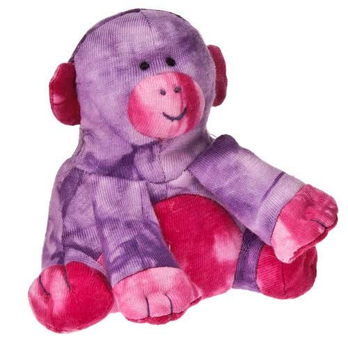 "Mary Meyer Happy Hippies Monkey 5"" Plush Toy"