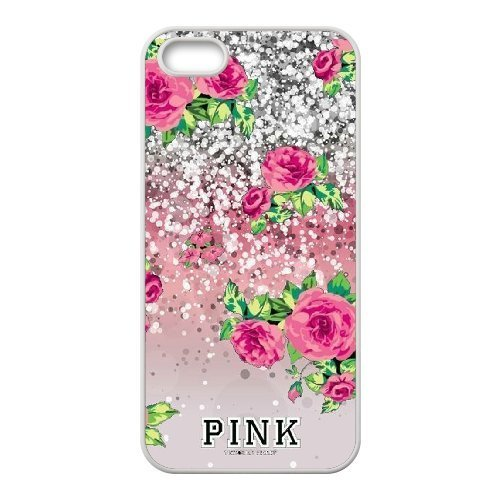 AKERCY Victoria Secret Pink Phone Case For iPhone 5,5S [Pattern-6]
