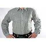 Lederhosen Shirt, Trachtenshirt, Oktoberfest Shirt, German Costume Shirt green