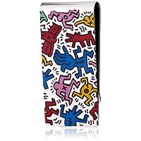 [キース・ヘリング] Keith Haring マネークリップシルバーカラー HRMZ0001  VB