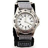 腕時計 スポーツ アウトドア  カジュアル アナログ クオーツ時計 防水 (銀色) [並行輸入品] ランキングお取り寄せ