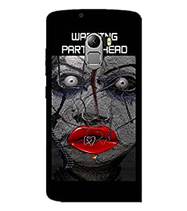 PrintDhaba Ghost D-3595 Back Case Cover for LENOVO K4 NOTE A7010a48 (Multi-Coloured)