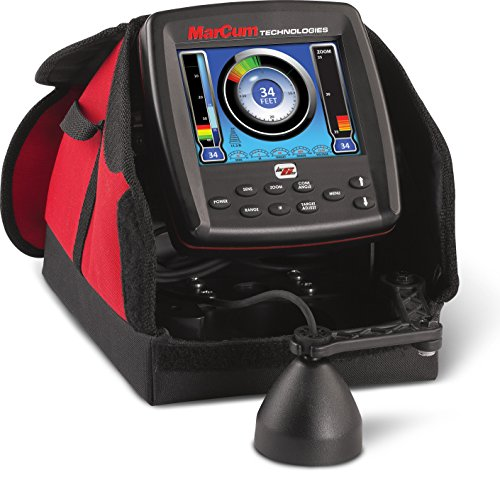 Marcum LX-6S Sonar System, Red/Black