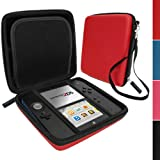 IGadgitz Red EVA Hard Case Cover for Nintendo 2DS