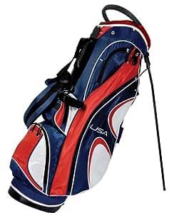 Orlimar SDX USA Logo Golf Stand Bag Red/White/Blue)