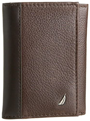 05. Nautica Men's Milled Trifold Wallet
