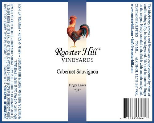 2013 Rooster Hill Vineyards Cabernet Sauvignon 750 Ml
