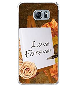 Love Forever 2D Hard Polycarbonate Designer Back Case Cover for Samsung Galaxy Note5 :: Samsung Galaxy Note5 N920G :: Samsung Galaxy Note5 N920T N920A N920I