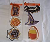Celebrate It Metal Halloween Cookie Cutters Set of 6