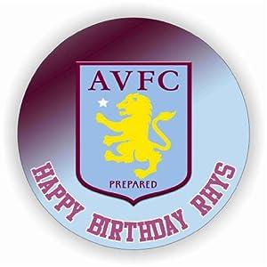 Aston Villa Cake Topper