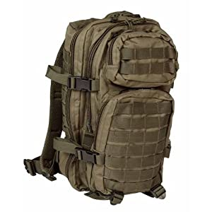 Mil-tec Patrol Molle Assault Pack Tactical Rucksack 30l Olive Od from Mil-Tec