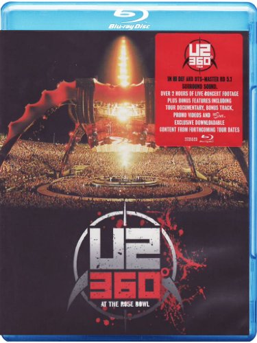 U2: 360° at the Rose Bowl [Blu-ray] (Clayton Rose compare prices)