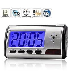 ZVision Spy Digital Alarm Table Clock DVR Motion Detector Hidden Camera Video Camcorder