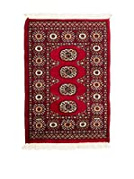 Navaei & Co. Alfombra Kashmir Bokhara Rojo/Blanco/Azul 85 x 62 cm