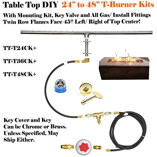 T36ck Ultra Low Profile Diy 36 T Burner 316 Stainless