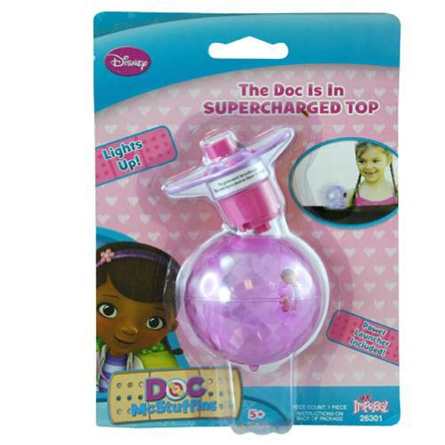 Doc Mcstuffins Light up Spinning Top - 1