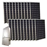 Grape Solar GS-5000-KIT 5000-Watt Monocrystalline PV Grid-Tied Solar Power Kit