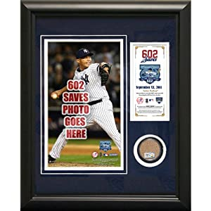 Steiner Sports New York Yankees Mariano Rivera Record Breaking Save (602nd Career... by Steiner Sports