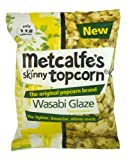 Metcalfe's skinny topcorn, Wasabi Glaze flavour (12 packs)