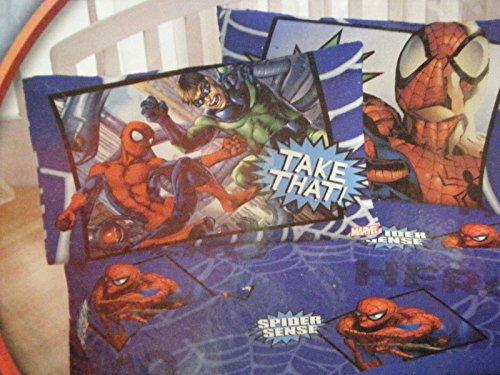 Spiderman Spider-sense Twin Sized Sheet Set