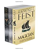 Raymond E. Feist Raymond E. Feist Riftwar Trilogy: Books 1, 2 and 3: Magician, Silverthorn and A Darkness at Sethanon