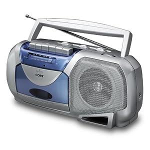 Coby CX144A Portable AM/FM Cassette Player/Recorder