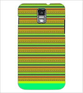 PrintDhaba Tribal Pattern D-1736 Back Case Cover for SAMSUNG GALAXY S5 (Multi-Coloured)
