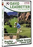 David Leadbetter - Practice Makes Perfect & Simple Secrets for Great Golf [DVD] [Import anglais]