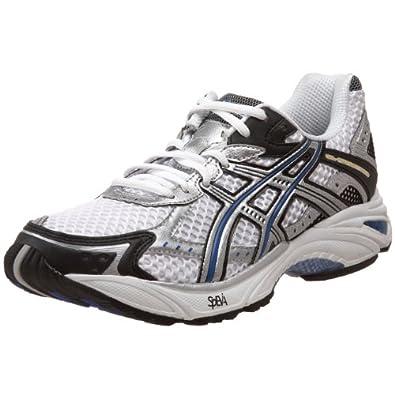 ASICS Men's GEL-Foundation 9 Running Shoe,White/Lightning/Royal,12.5 4E US