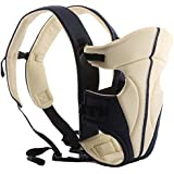 Ecosusi Front and Back Baby Carrier (Cream)