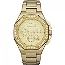 Michael Kors MK5505 Ladies Gold Plated Chronograph Watch