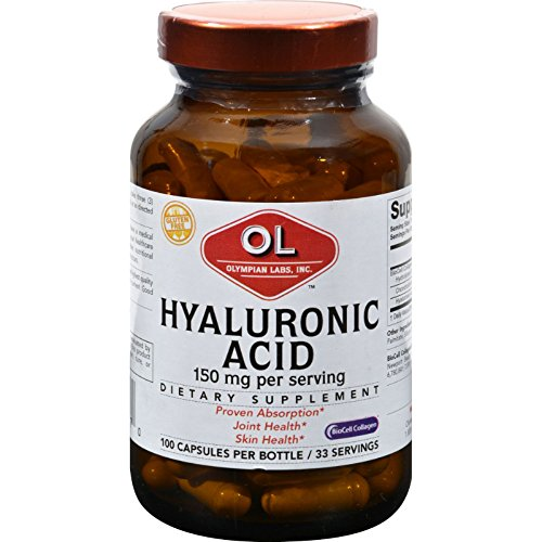 Olympian Labs - Hyaluronic Acid - 100 Capsules