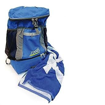 Zoggs Triathlon Backpack Ruck Sack - Blue