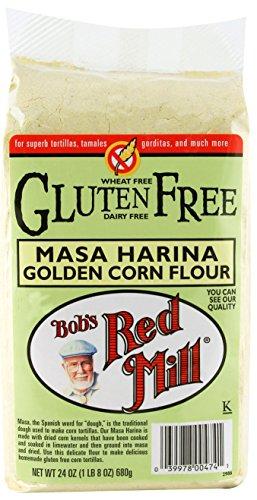 Bob's Red Mill Gluten Free Masa Harina Golden Corn Flour -- 24 oz (Golden Masa Harina Corn Flour compare prices)
