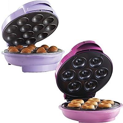 Tasty Treat Gift Set- Mini Donut and Cake Pop Snack Makers Kitchen Electrics