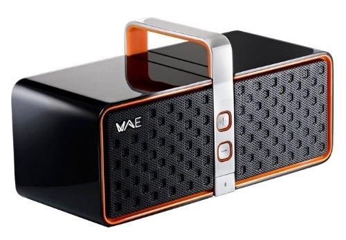 Hercules Wae-Bt03-B/O Bluetooth 2.0 Speaker (Black/Orange) front-1037715