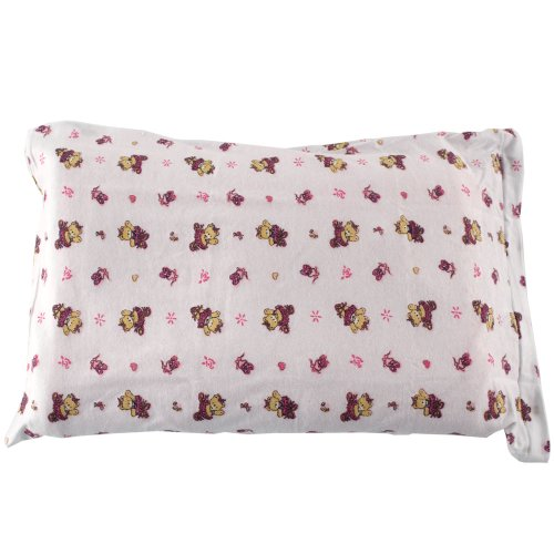Buy Cheap Luvable Friends Infant Pillow Case, Traditional Pink Print