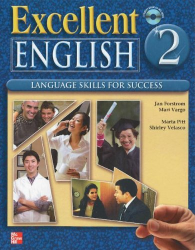 Excellent English Level 2 Student Book with Audio Highlights and Workbook with Audio CD Pack: Language Skills For Succes