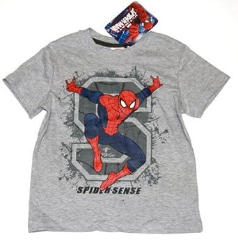 """Spiderman Jungen T-Shirt """"Spider Sense"""" - 128"""