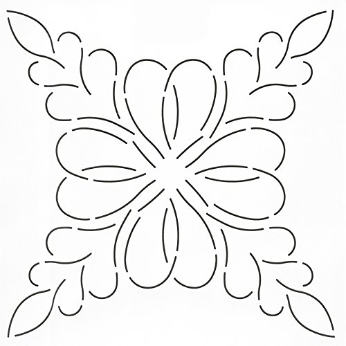 Quilting Creations Feathered Hearts Quilt Stencil, 12
