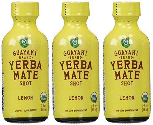 Guayaki Organic Lemon Energy Shot (12x2oz) (Guayaki Energy Drinks compare prices)
