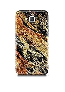 Golden Black Marble Samsung On5 Case