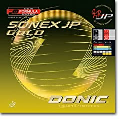 Donic Sonex JP Gold Table Tennis Rubber -Red