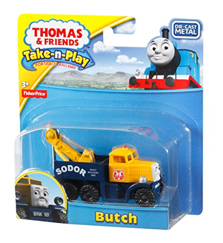 Fisher Price Thomas Friends Take N Play Butch The Heavy